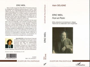 Couverture Eric Weil