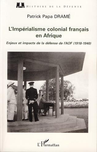 Couverture L'impérialisme colonial français en Afrique