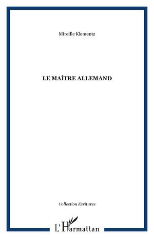 Couverture Le maître allemand