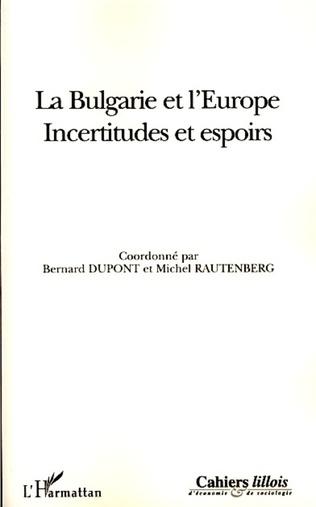 Couverture La Bulgarie et l'Europe
