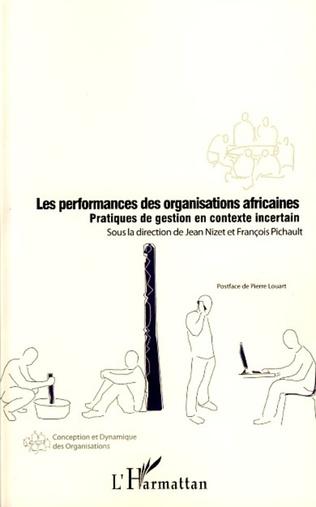 Couverture Les performances des organisations africaines
