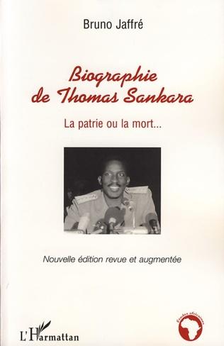 Couverture Biographie de Thomas Sankara