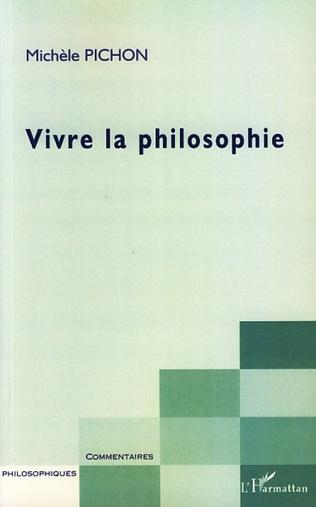 Couverture Vivre la philosophie