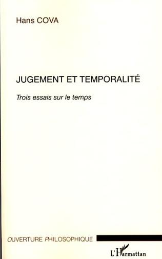 Couverture Jugement et temporalité
