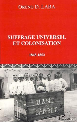 Couverture Suffrage universel et colonisation