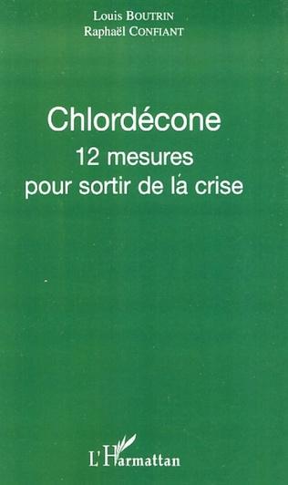 Couverture Chlordécone