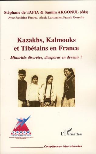 Couverture Kazakhs, Kalmouks et Tibétains en France