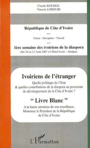 Couverture Ivoiriens de l'étranger