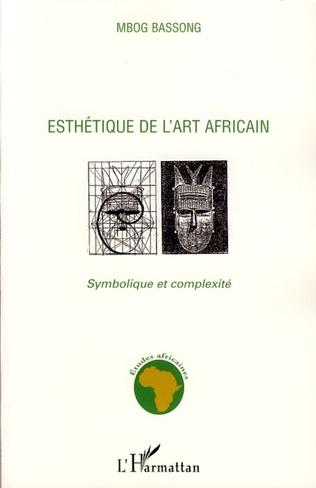 Couverture Esthétique de l'art africain