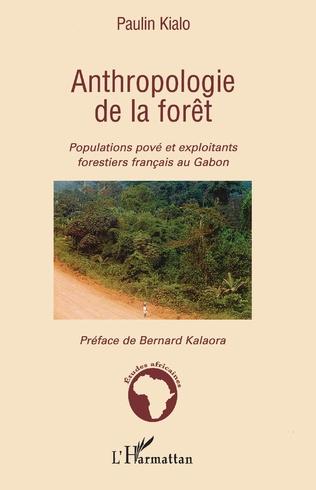 Couverture Anthropologie de la forêt