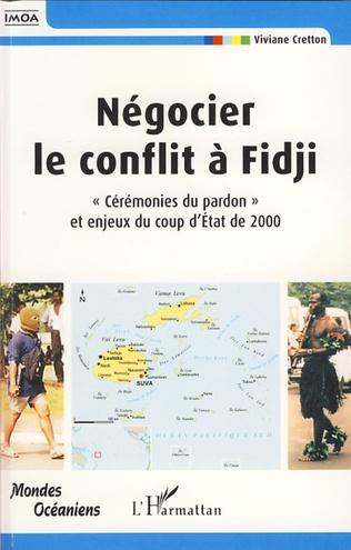 Couverture Négocier le conflit à Fidji
