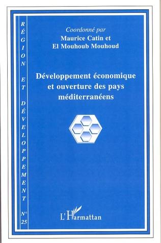 Couverture Développement économique et ouverture des pays méditerranéens