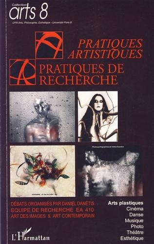 Couverture Pratiques artistiques / Pratiques de recherche