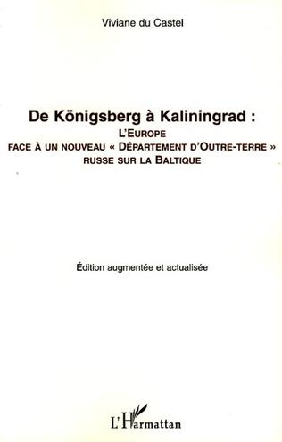 Couverture De Königsberg à Kaliningrad