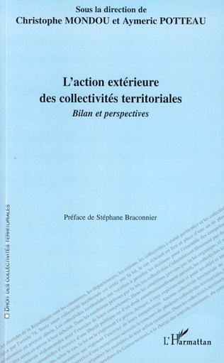 Couverture L'internationalisation de l'action des collectivités territoriales
