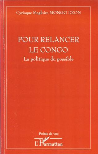 Couverture Pour relancer le Congo
