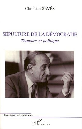 Couverture Sépulture de la démocratie