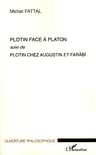 Couverture Plotin face à Platon
