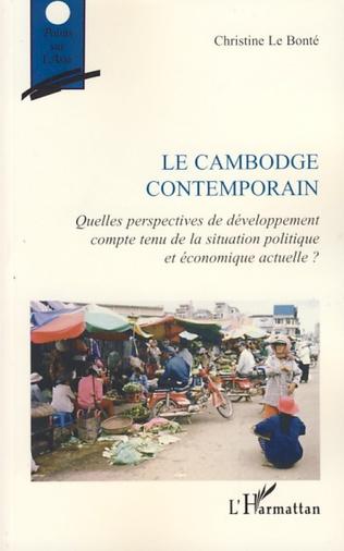 Couverture Le Cambodge contemporain