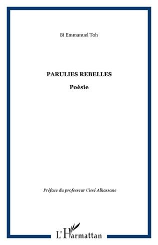 Couverture Parulies rebelles