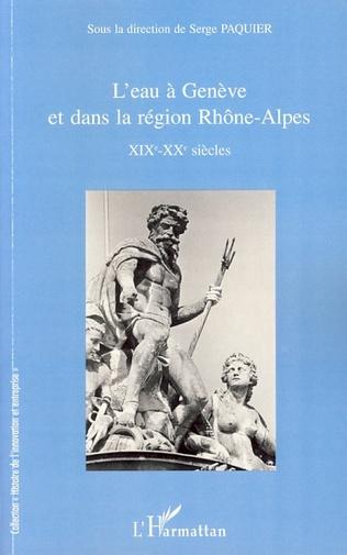 Couverture L'eau à Genève et dans la région Rhône-Alpes