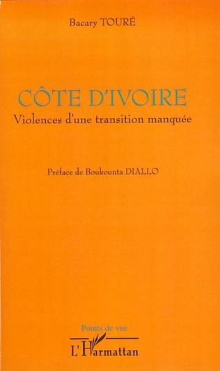 Couverture Côte d'Ivoire violences d'une transition manquée