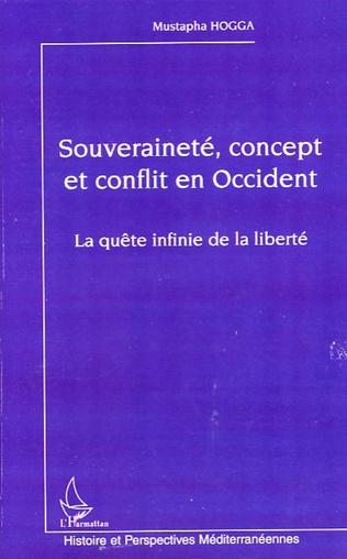 Couverture Souveraineté, concept et conflit en Occident