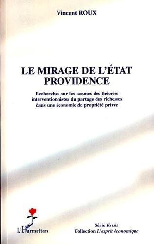 Couverture Le mirage de l'Etat providence