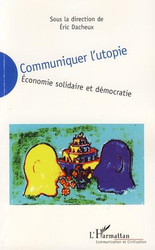 Couverture Les difficultés de communication de l'économie solidaire