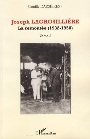 Couverture Joseph Lagrosillière