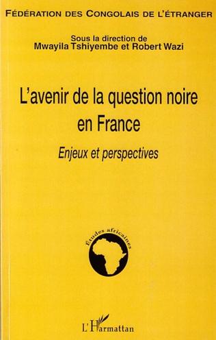 Couverture Les Noirs en France: géopolitique concomitante d'une amnésie de l'histoire et d'une nécessité de positionnement affirmatif