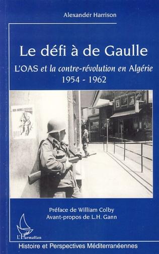 Couverture Le défi à de Gaulle