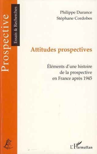 Couverture Attitudes prospectives
