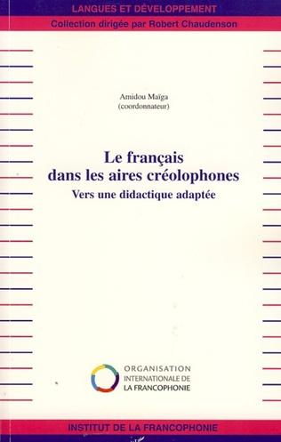 Couverture Le français dans les aires créolophones