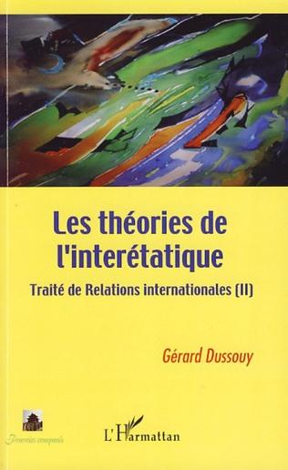Couverture Les théories de l'interétatique
