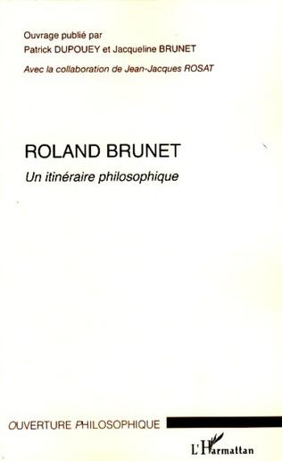 Couverture Roland Brunet