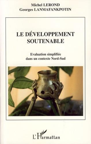 Couverture Le développement soutenable