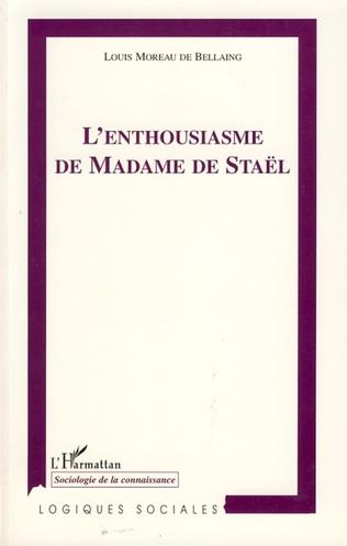 Couverture L'Enthousiasme de Madame de Staël
