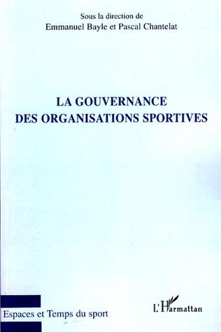Couverture La gouvernance des organisations sportives