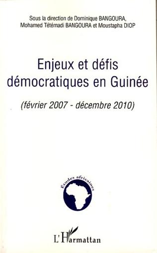 Couverture Enjeux et défis démocratiques en Guinée
