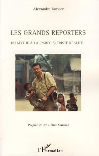 Couverture Les grands reporters