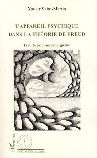 Couverture L'appareil psychique dans la théorie de Freud