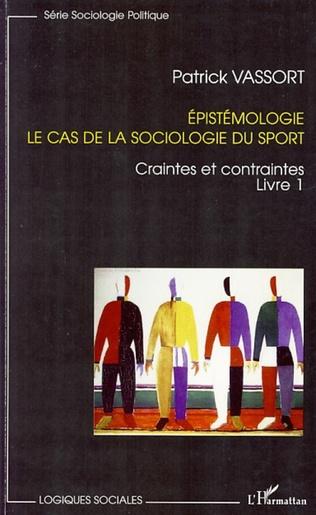Couverture Epistémologie, le cas de la sociologie du sport