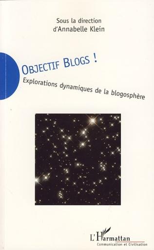 Couverture Objectif blogs!