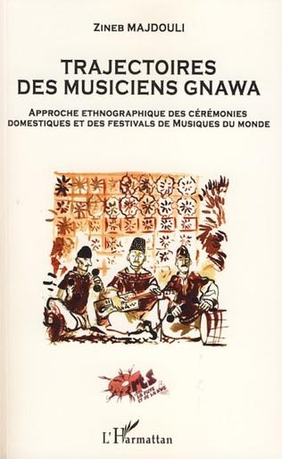 Couverture Trajectoires des musiciens Gnawa