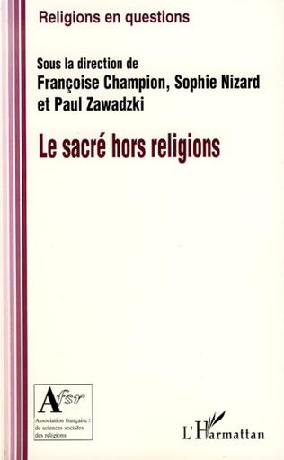 Couverture Le sacré hors religion