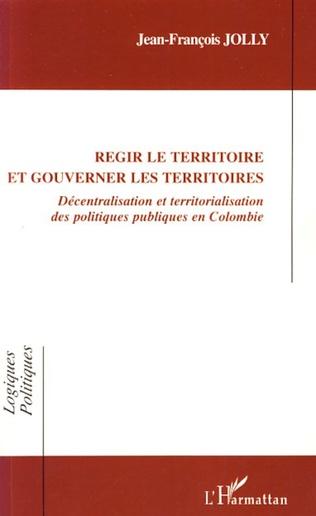 Couverture Régir le territoire et gouverner les territoires