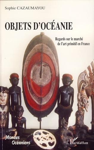 Couverture Objets d'Océanie