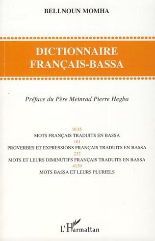 Couverture Dictionnaire français-bassa
