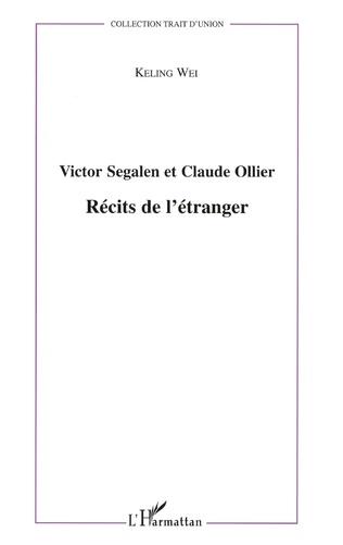 Couverture Victor Segalen et Claude Ollier